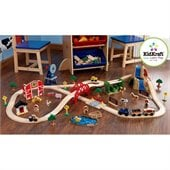 KidKraft Farm Train 75 Piece Set
