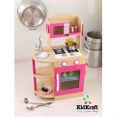 KidKraft Wooden Kitchen in Pink