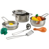 KidKraft Metal Accessories Cookware Set