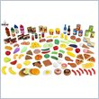 ADD TO YOUR SET: KidKraft Tasty Treats 125 Piece Play Food Set