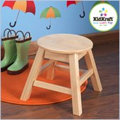KidKraft Round Stool Natural