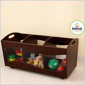 KidKraft See Thru Bins in Espresso