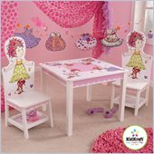 KidKraft Fancy Nancy Table and 2 Chair Set