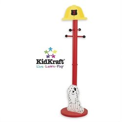 Kidkraft Firefighter Standing Coat Rack Picture