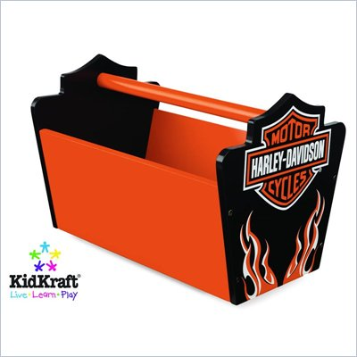 KidKraft Harley-Davidson&#174; Flames Toy Caddy