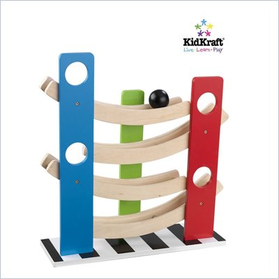 KidKraft Zig Zag Ball Run
