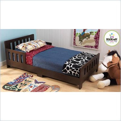 KidKraft Charleston Toddler Cot - Espresso