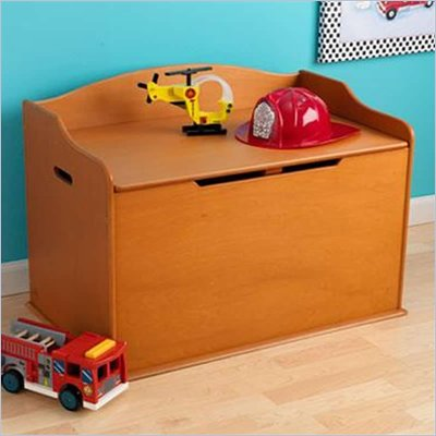 KidKraft Austin Toy Box in Honey
