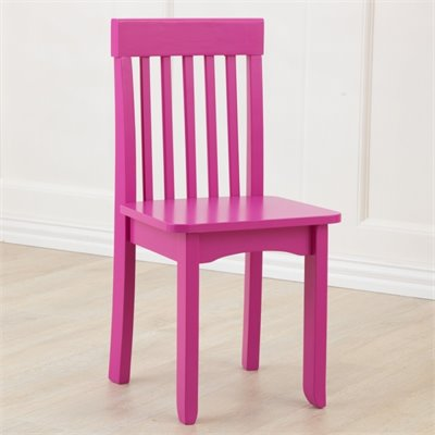 KidKraft Avalon Seating Chair in Raspberry