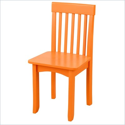 KidKraft Avalon Seating Chair in Pumpkin
