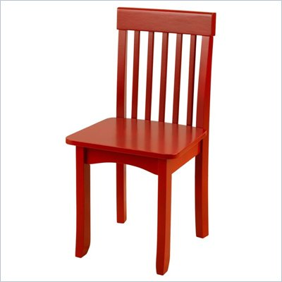 KidKraft Avalon Seating Chair in Cranberry