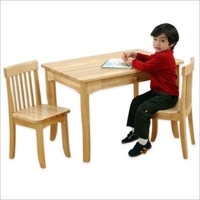 KidKraft Avalon Table and 2 Chair Set in Natural