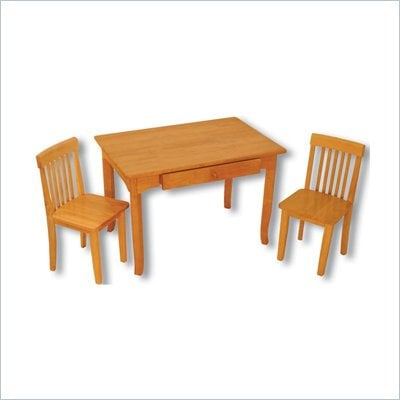 KidKraft Avalon Table and 2 Chair Set in Honey