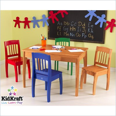 KidKraft Euro Honey Table &amp; 4 Chairs