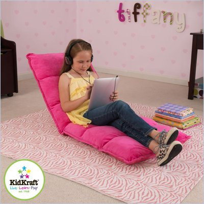 Kidkraft Adjustable Lounger in Hot Pink