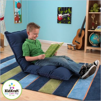 Kidkraft Adjustable Lounger in Denim