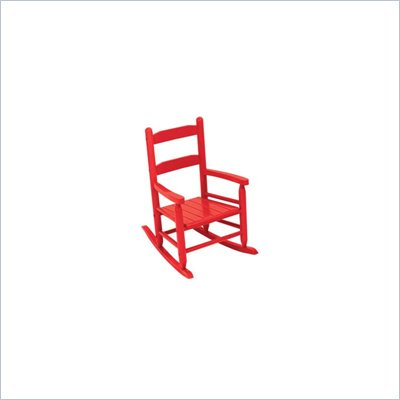 KidKraft 2-Slat Rocking Chair in Red