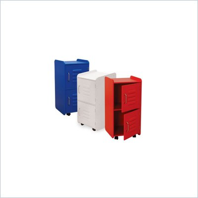 KidKraft Medium Locker in Red