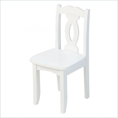 KidKraft Brighton Seating Chair in White