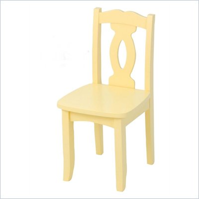 KidKraft Brighton Seating Chair in Buttercup