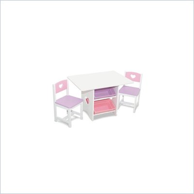KidKraft Heart Table and 2 Chair Set