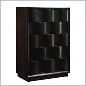 Modus Maui Wave 5 Drawer Chest in Chocolate Brown Finish