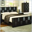 ADD TO YOUR SET: Modus Maui Wave Birchwood Panel Bed in Chocolate Brown