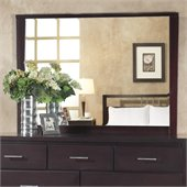 Modus Nevis Landscape Mirror in Espresso