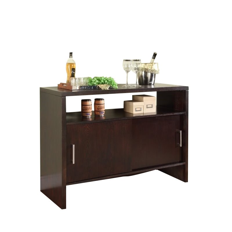 Modus Bossa Sideboard in Dark Chocolate
