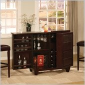 Modus Hudson Spirit Cabinet in Coffee Bean