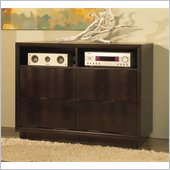 Modus Maui Wave Media Chest in Chocolate Brown Finish