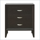 Modus Penthouse Two Drawer Nightstand in Coco