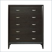 Modus Penthouse Five Drawer Chest in Coco
