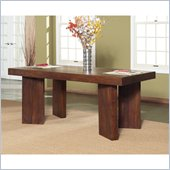 Modus Palindrome Dining Table in Chestnut 