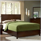 Modus Modera Panel Bed in Chocolate Brown
