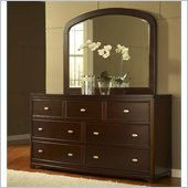 Modus Telos Mirror in Chocolate Brown
