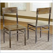 Modus Farmhouse Dining Chairs in Antique Walnut (Set of 2)
