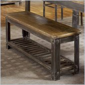 Modus Farmhouse Bench in Antique Walnut