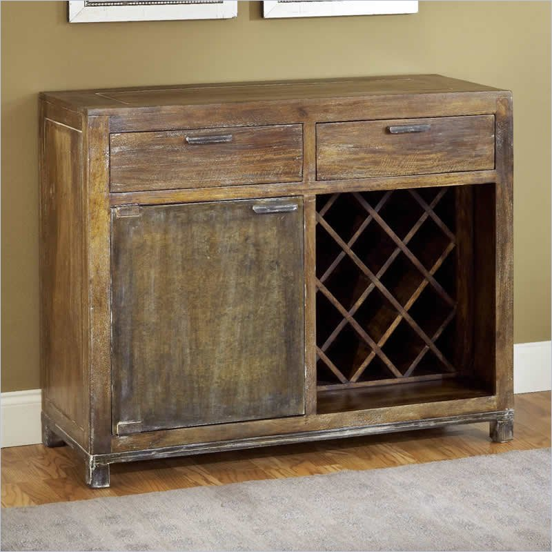 Modus Farmhouse Sideboard in Antique Walnut