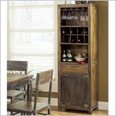Modus Farmhouse Wine Rack in Antique Walnut