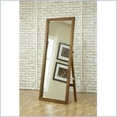 Modus Furniture City II Freestanding Floor Mirror Pecan