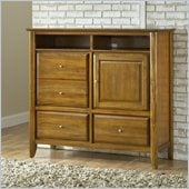 Modus Furniture City II Media Chest Pecan