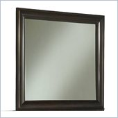 Modus Furniture Contour Beveled Glass Mirror in Ebony 
