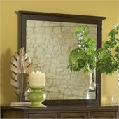 Modus Furniture Paragon Mirror in Truffle
