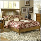 Modus Furniture City II Rake Bed in Pecan