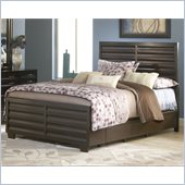 Modus Furniture Contour Four Drawer Storage Bed in Ebony