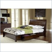 Modus Furniture Veneto Four Drawer Storage Bed in Chocolate Brown