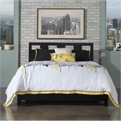 Modus Furniture International Riva Bed 3 Piece Bedroom Set in Espresso