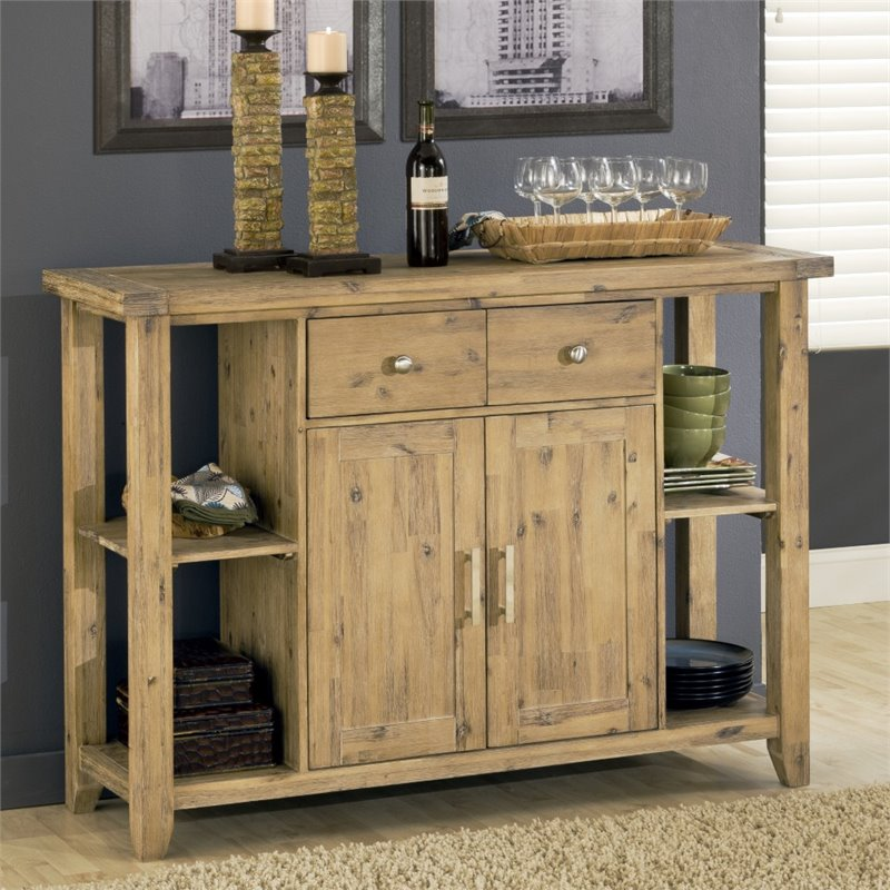 Modus Furniture Autumn Sideboard in Light Brown