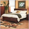 ADD TO YOUR SET: Modus Canyon Tropical Mahogany Low Profile Panel Bed in Saddle Brown